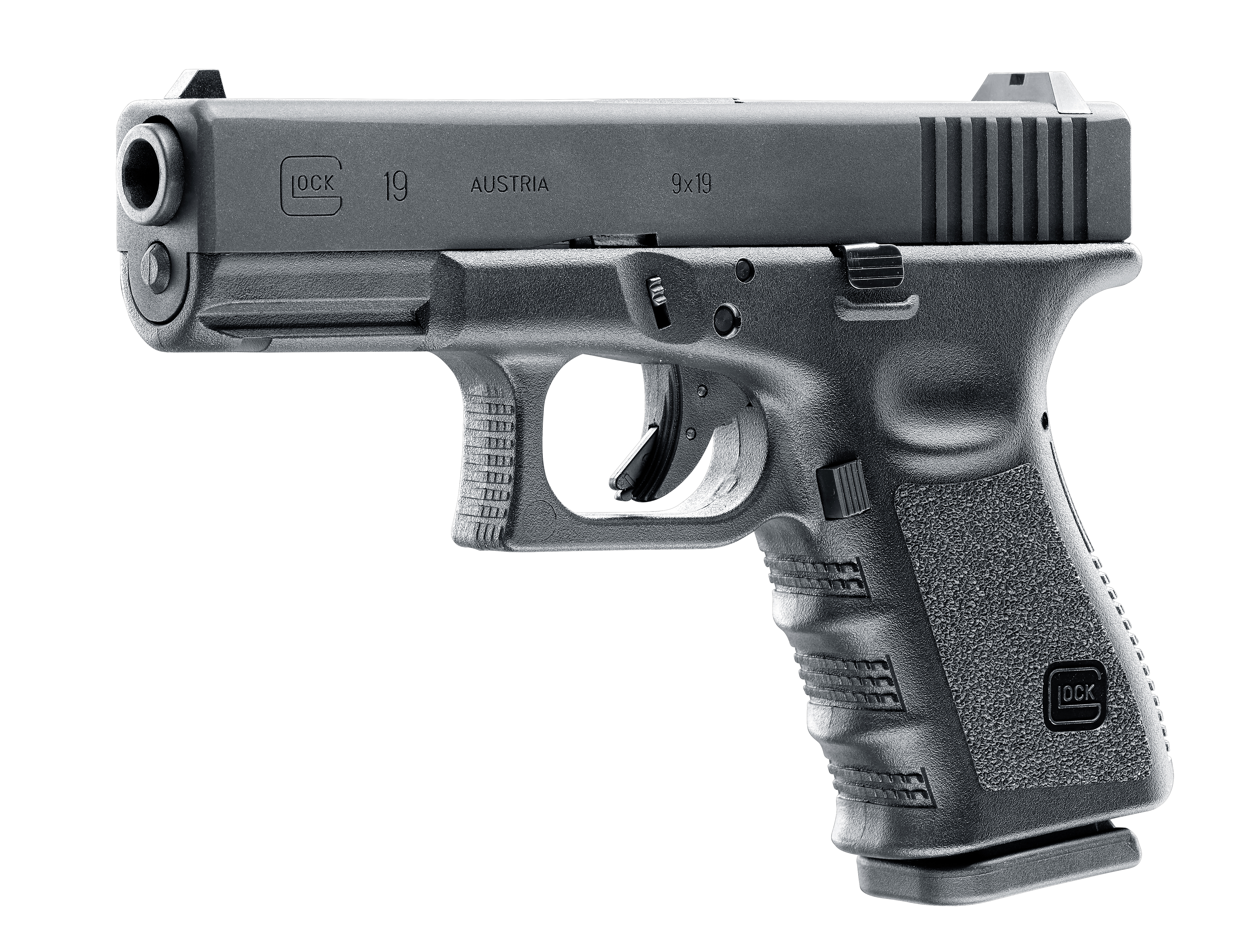 Glock 19 Airsoftpistole Blow Back