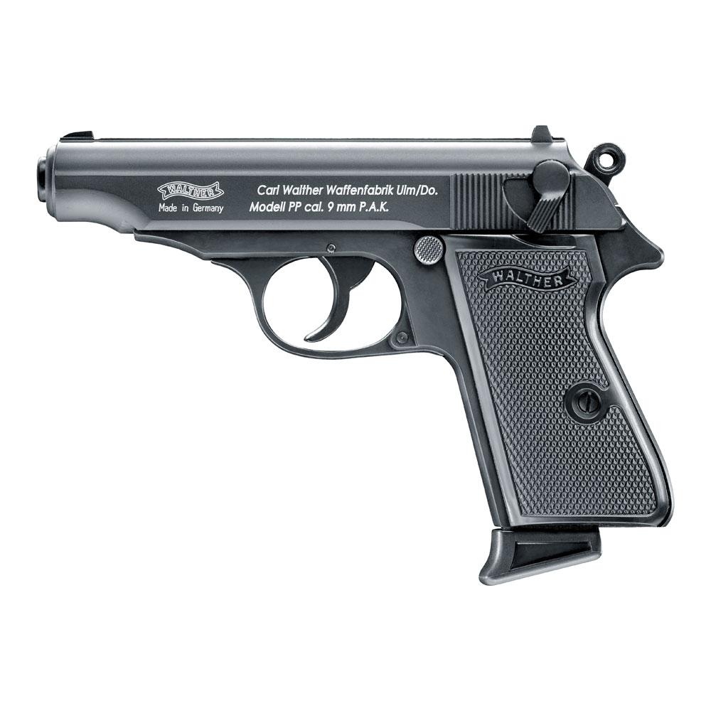 Walther PP Schreckschuss Pistole 9mm P.A.K