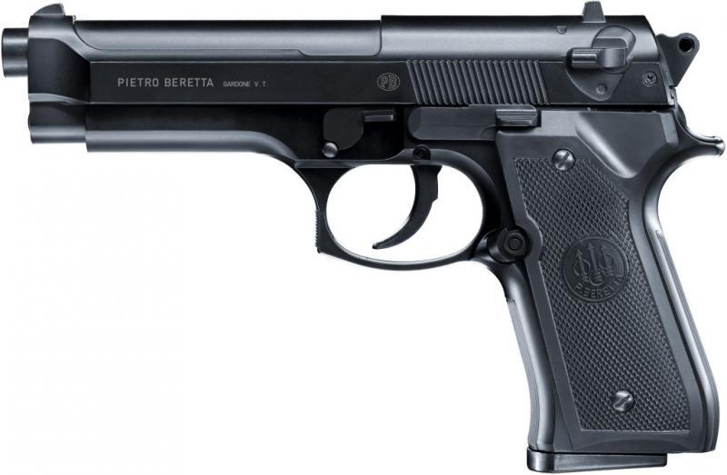 BERETTA 92FS Airsoftpistole, 6mm BB Metallschlitten