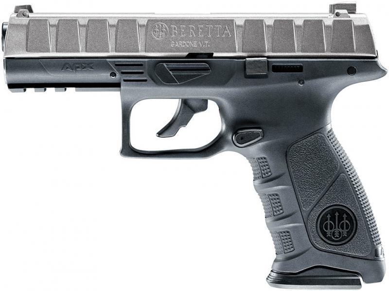 Beretta APX CO2-Pistole, grau, cal. 4,5mm (.177)
