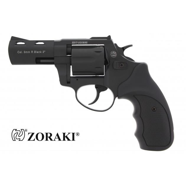 """Zoraki R2 Schreckschussrevolver 3"""" schwarz, cal. 9mm R.K"""