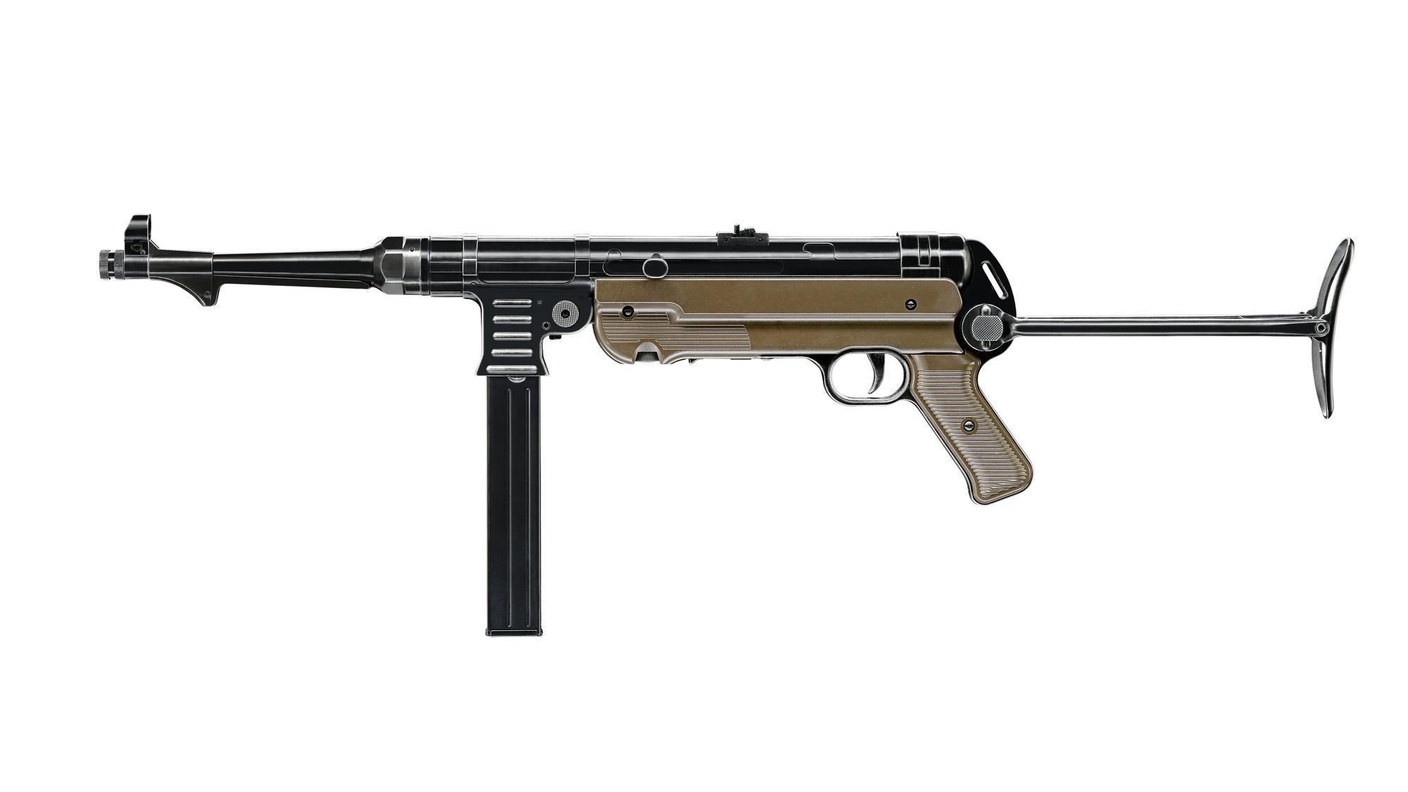 Umarex Legends MP German Legacy CO2 Gewehr 4,5mm BB, MP 40