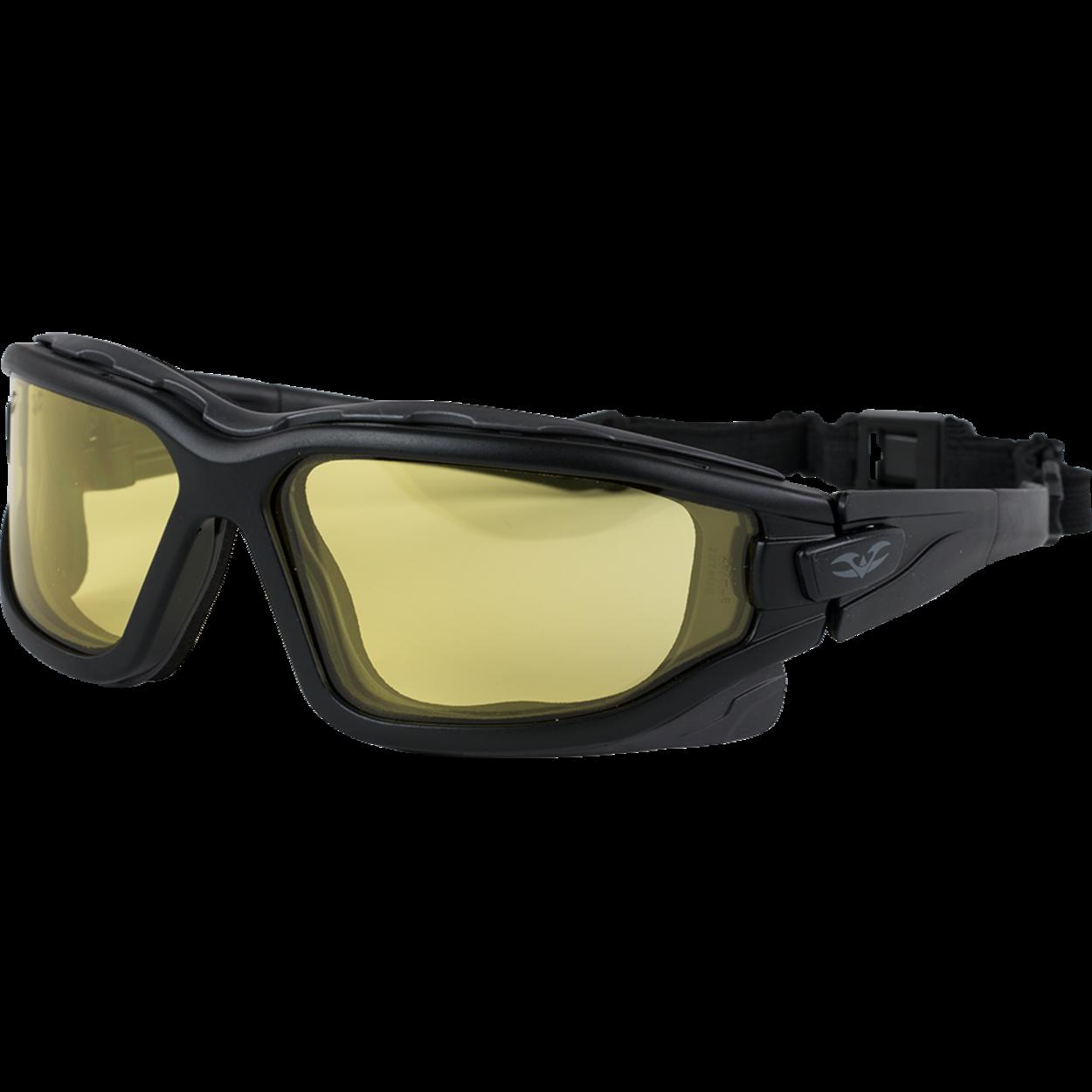 Airsoft Brille / Schießbrille Valken Zulu gelb