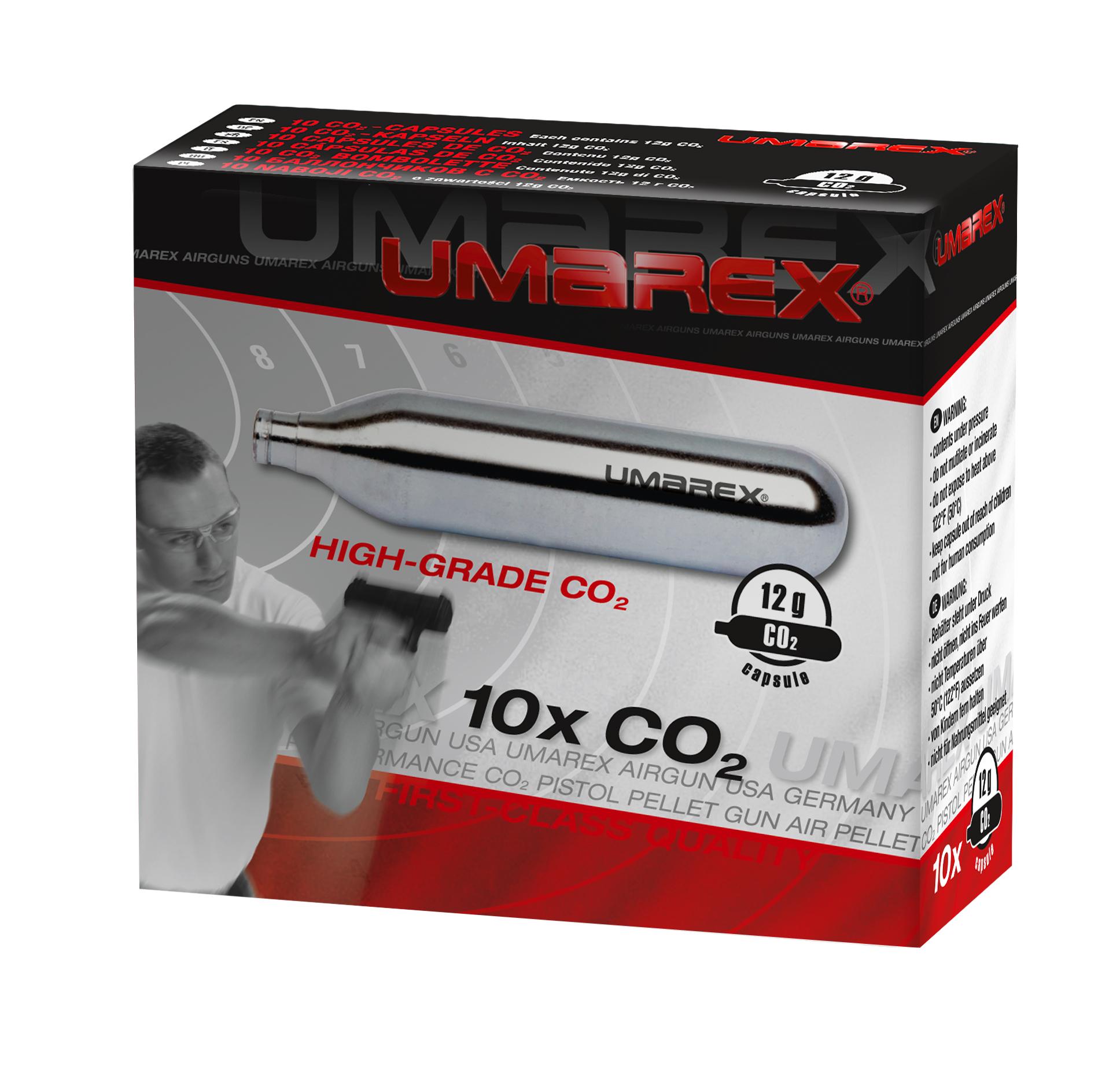 Umarex CO2 Kapseln 10er Pack