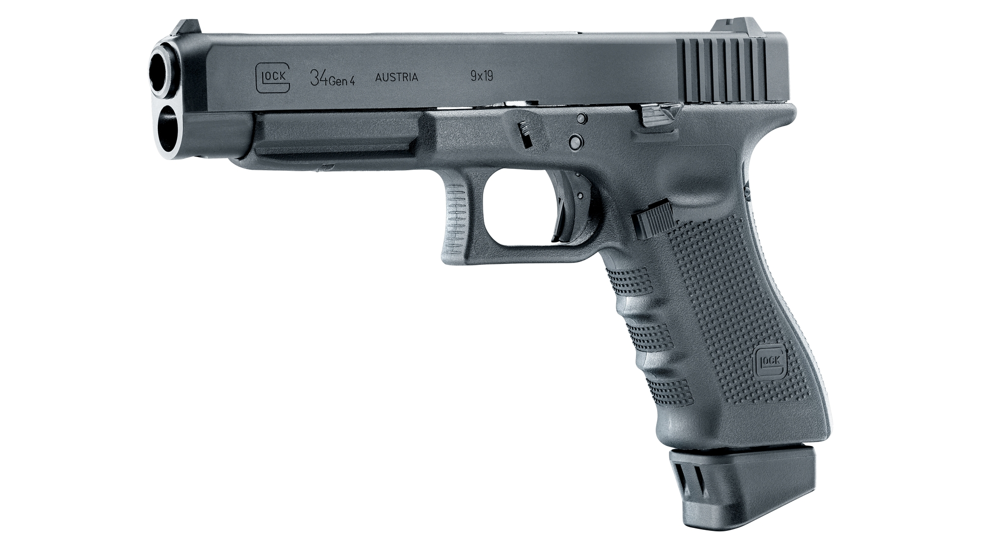 Glock 34 Deluxe Airsoftpistole 6mm BB Blowback