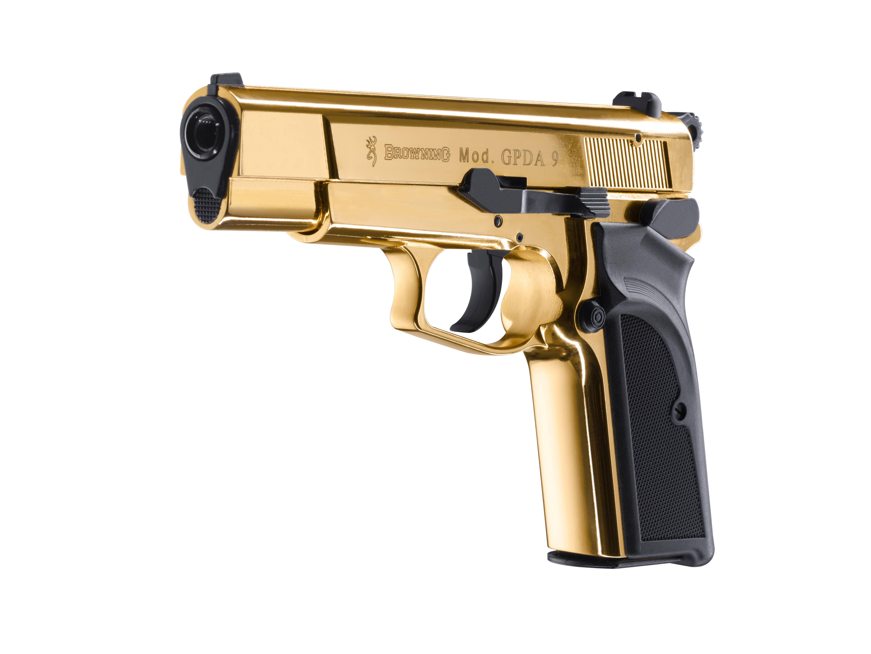 Browning GPDA 9 Gold Schreckschuss Pistole 9mm P.A.K.