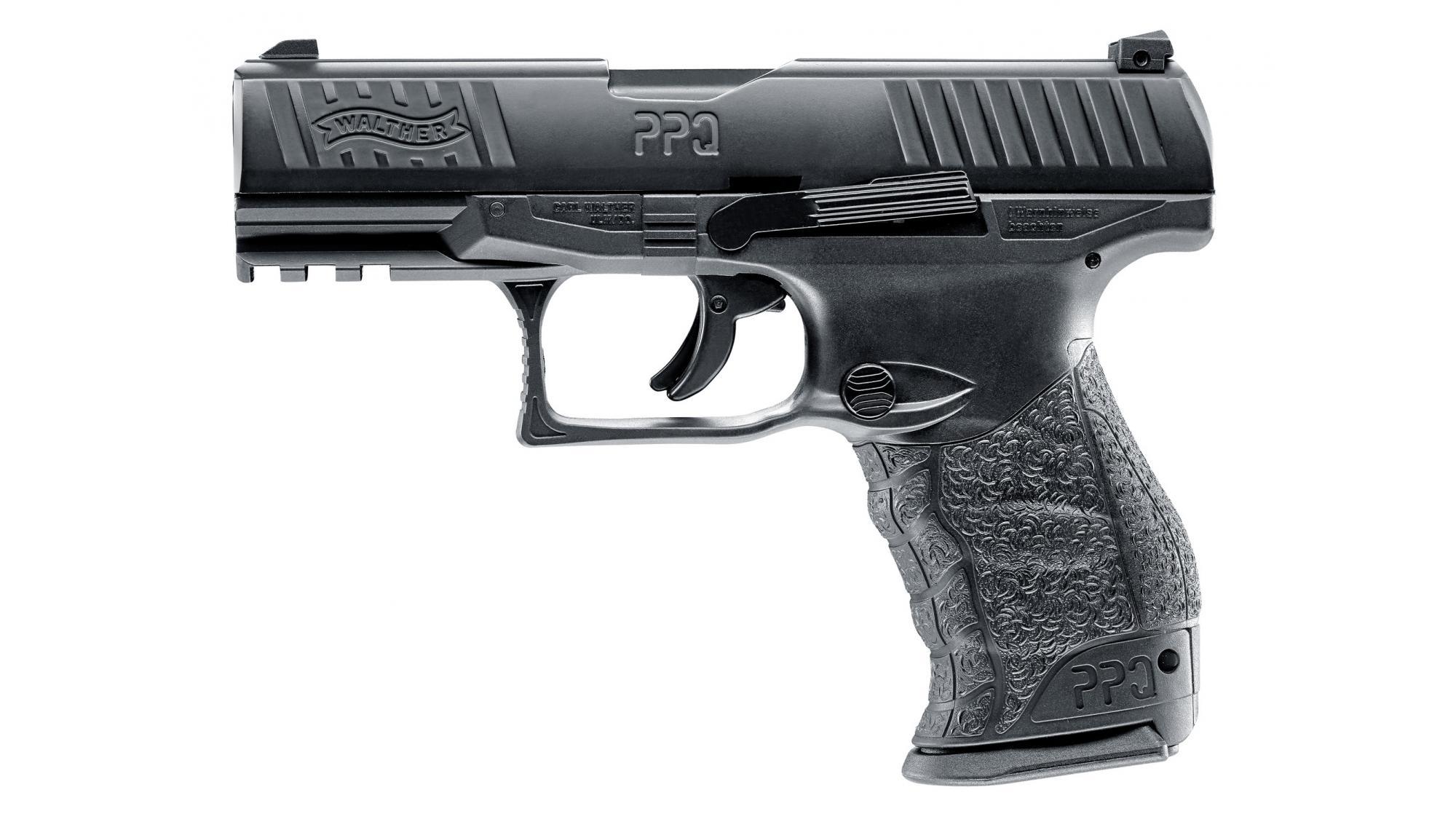 Walther PPQ RAM T4E CO2-Pistole schwarz-FDE-tungstengrey