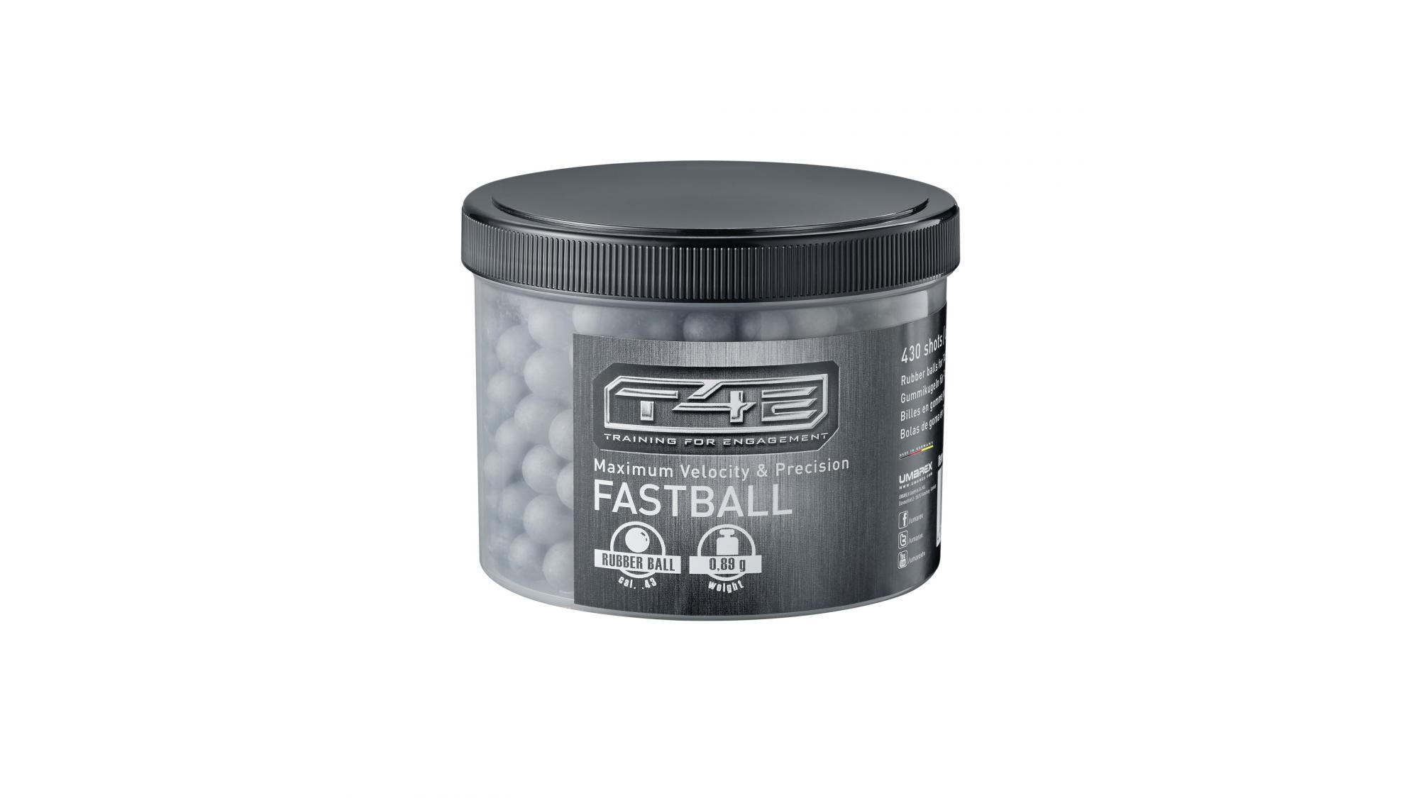 Gummigeschosse Fastball cal. 43, RAM Munition