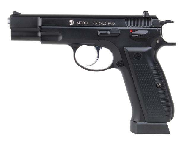 CZ 75 CO2-Pistole, Blowback, 4,5mm BB