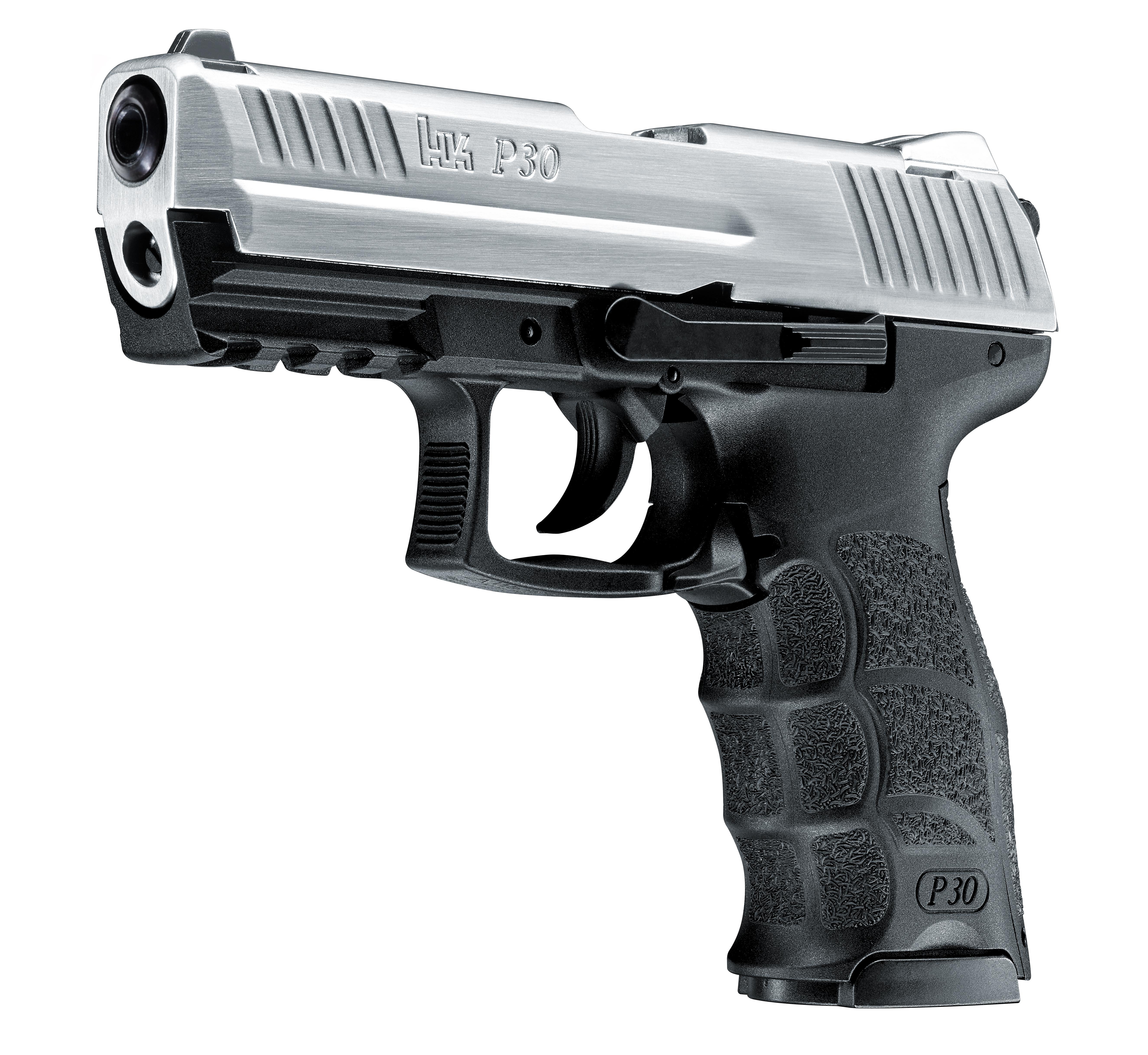 Heckler & Koch P30 Steel Schreckschuss Pistole 9mm P.A.K.