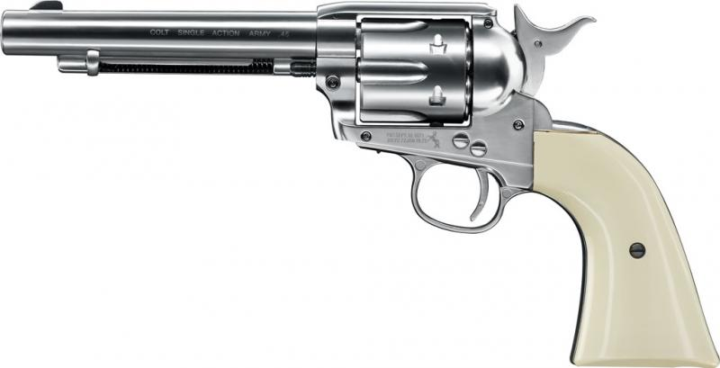 COLT SINGLE ACTION ARMY 45 Nickel, 4,5mm BB