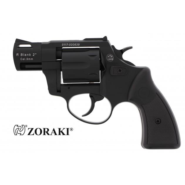"""Zoraki R2 Schreckschussrevolver 2"""" schwarz, cal. 9mm R.K"""