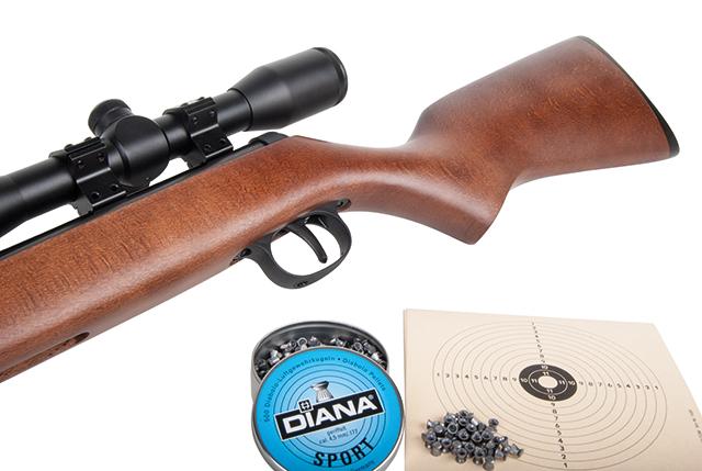 Diana 240 Classic Luftgewehr Set 4,5 mm Diabolo