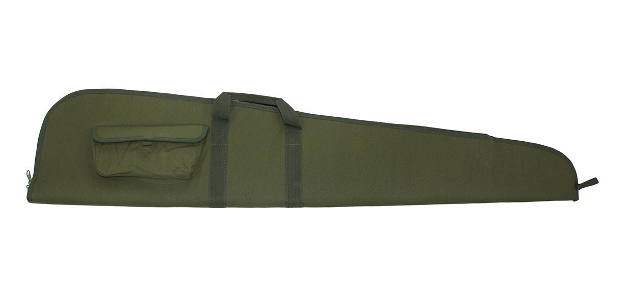 Waffenfutteral grün, 128cm
