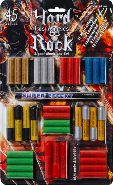 Feuerwerk Umarex Hard Rock Los Angeles, 45teilig cal. 15mm Pyrotechnik