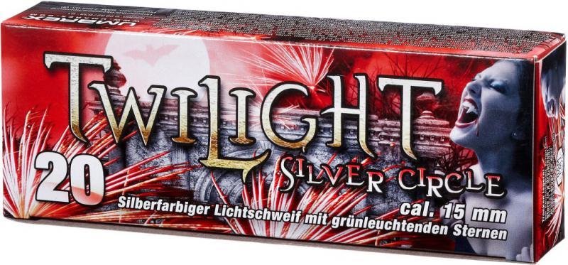 Feuerwerk Umarex Twilight Zone Silver Circle, 20teilig cal. 15mm Pyrotechnik