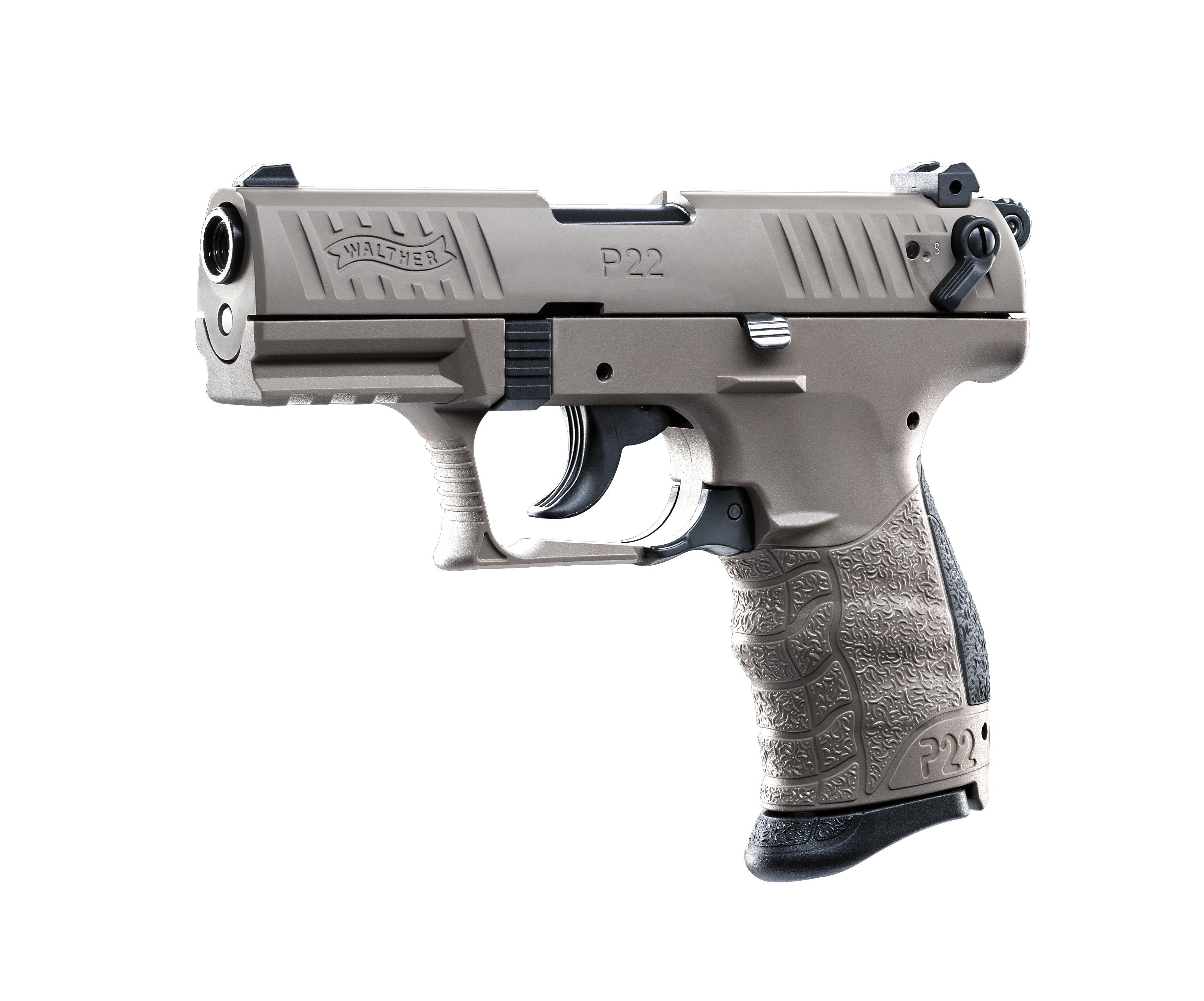 Walther P22Q Flat Dark Earth Schreckschusswaffe