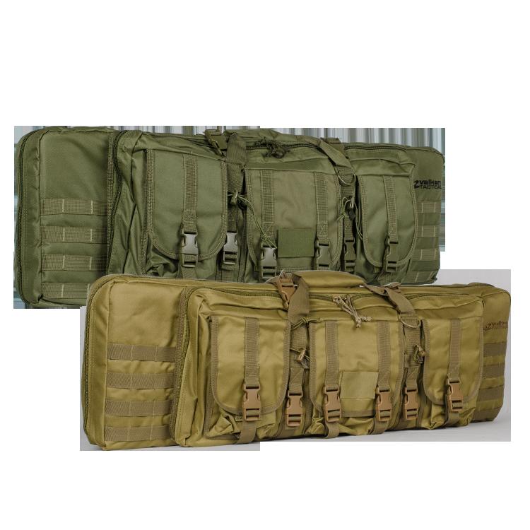 """Waffenfutteral 42"""" Oliv für 2 Langwaffen, (1070mm)"""
