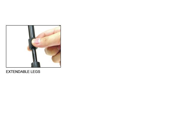 UTG Bipod für Gewehre Laufmontage