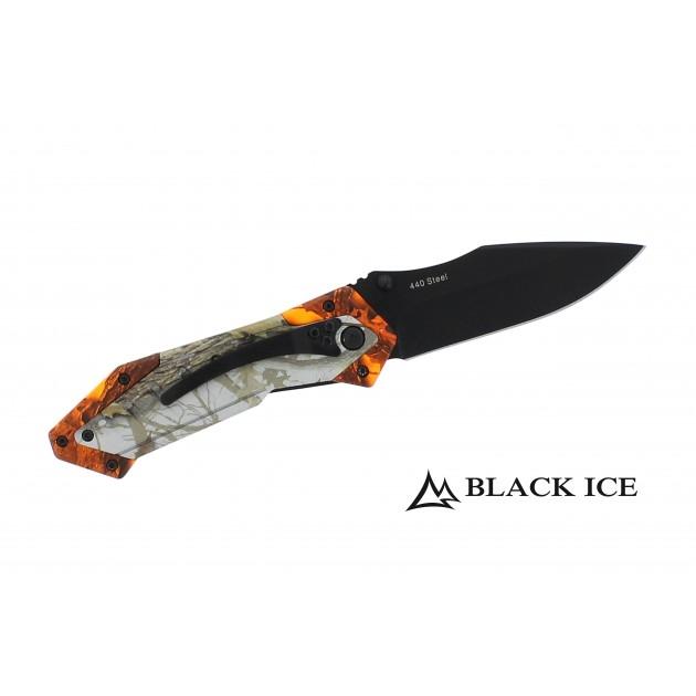 Black Ice Camo Hunter Jagdmesser - Einhandmesser