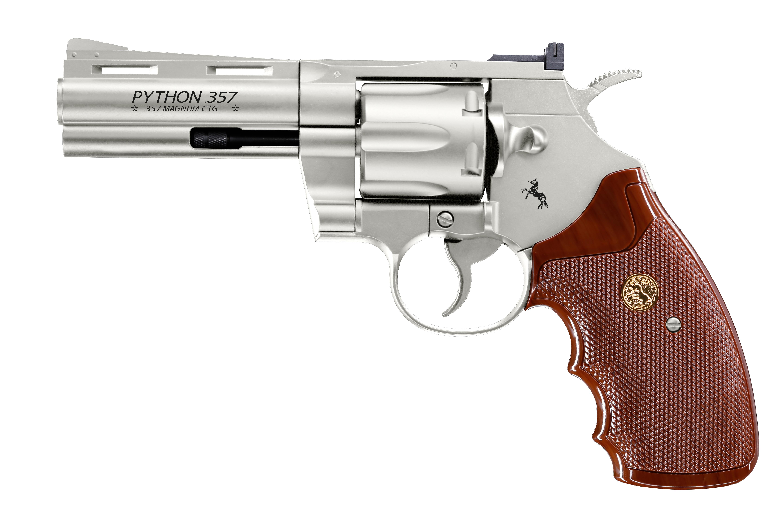 "Colt Python 4"", nickel"