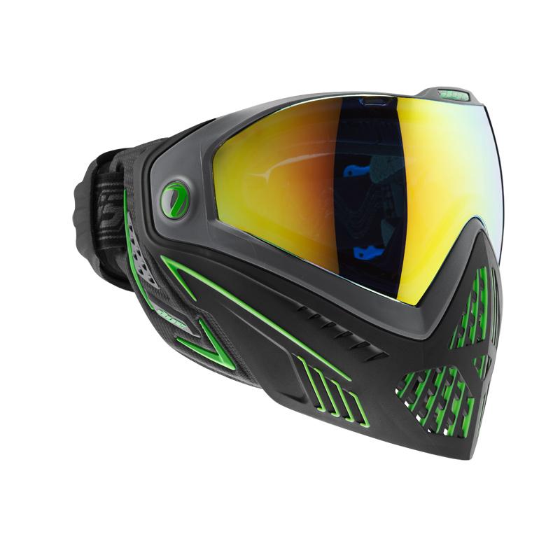 DYE I5 Paintballmaske Emerald