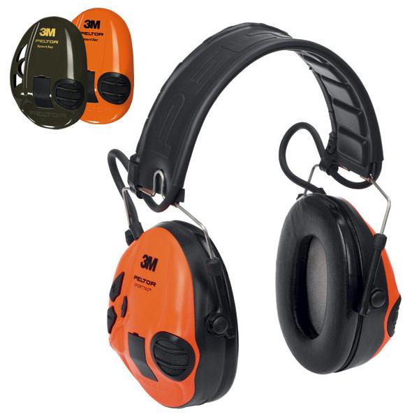 3M Peltor SportTac aktiver Gehörschutz, olive/orange