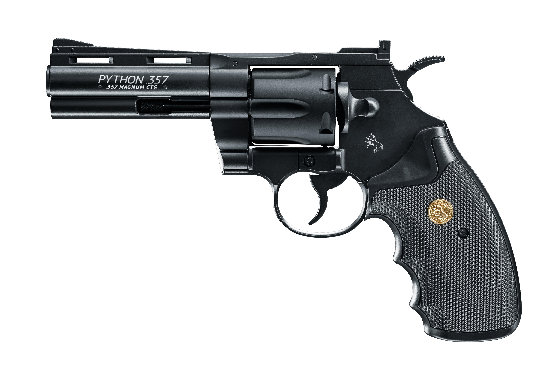 """Colt Python 4"""", schwarz brüniert"""