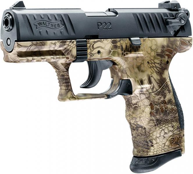 Walther P22Q Kryptek Schreckschusspistole 9mm P.A.K