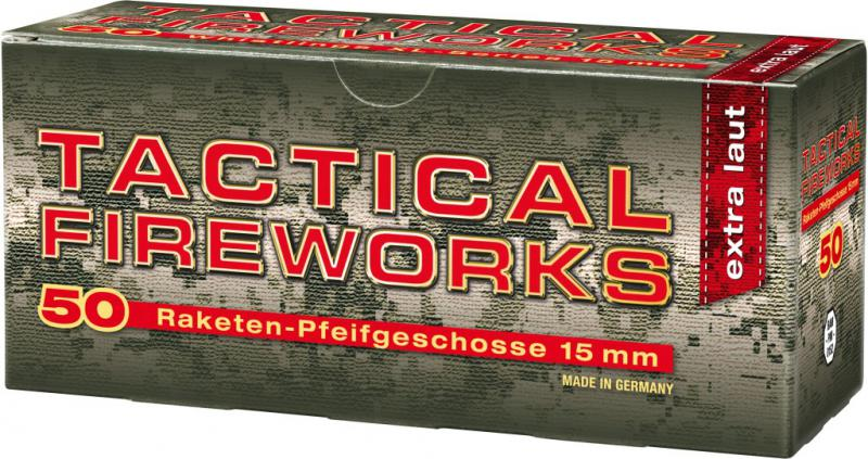 Feuerwerk Umarex Pfeifpatronen Tactical Firework, 50teilig cal. 15mm Pyrotechnik