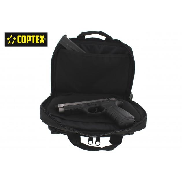 Coptex Waffentasche für 2 Kurzwaffen Doppelwaffenfutteral