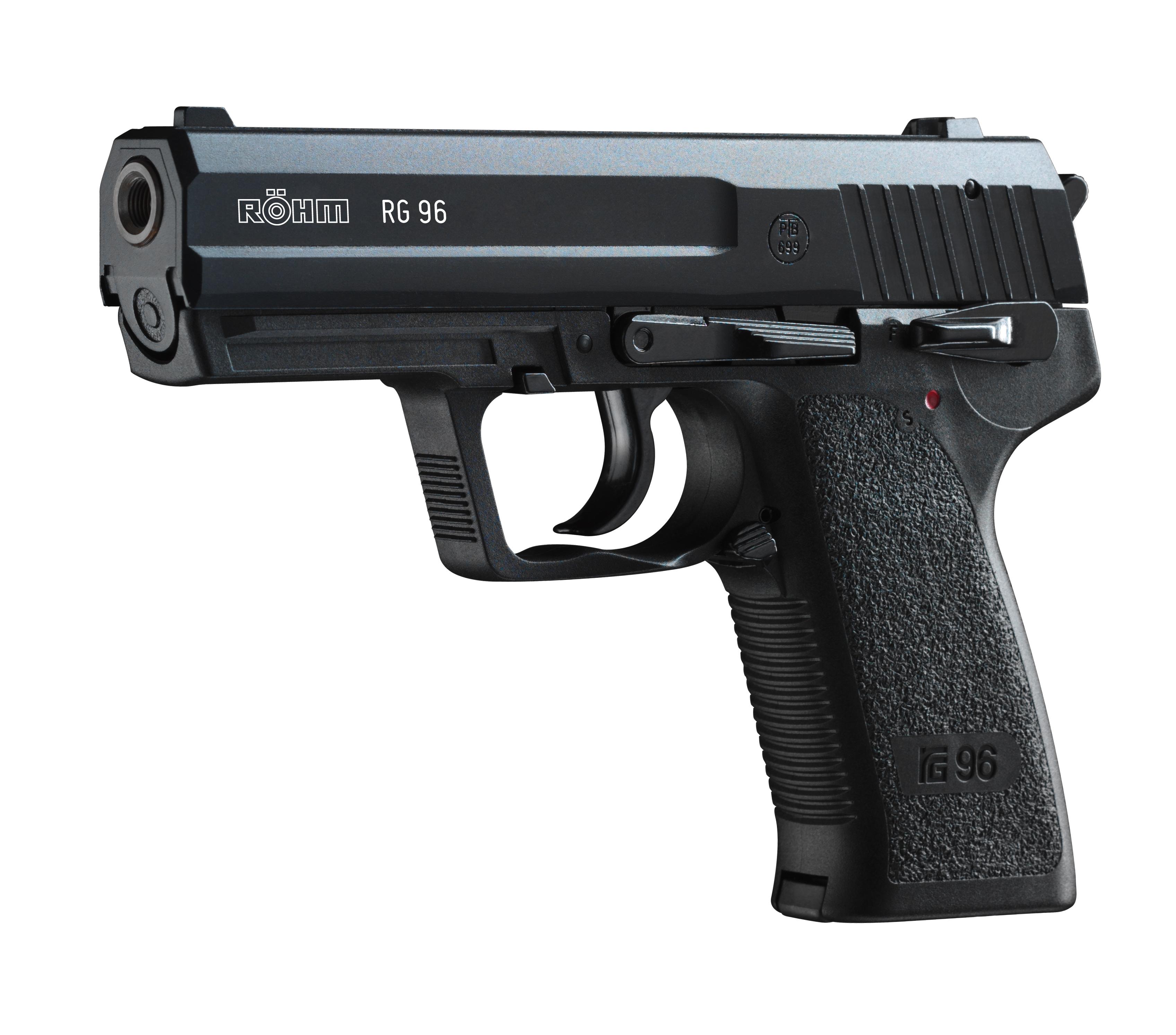 Schreckschusspistole Roehm RG 96, cal. 9mm P.A.K