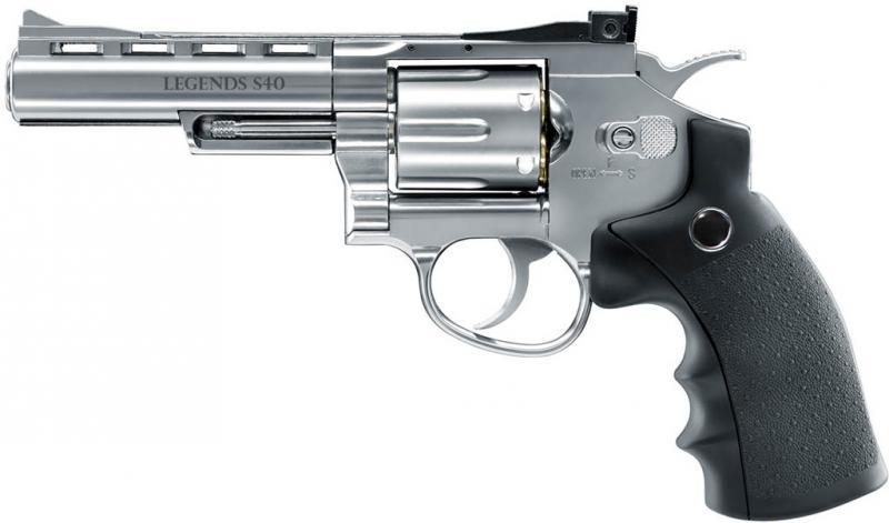 "Legends S60 CO2-Revolver 6"", cal. 4,5mm Diabolo"