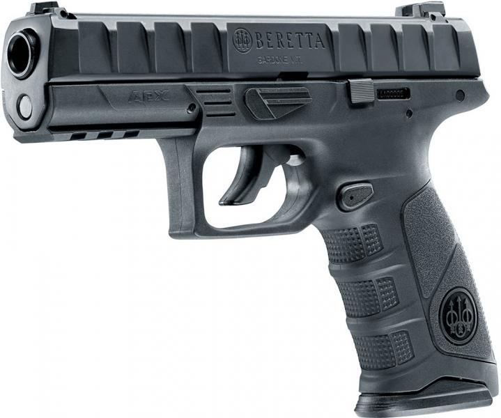 Beretta APX CO2-Pistole, schwarz, cal. 4,5mm (.177)