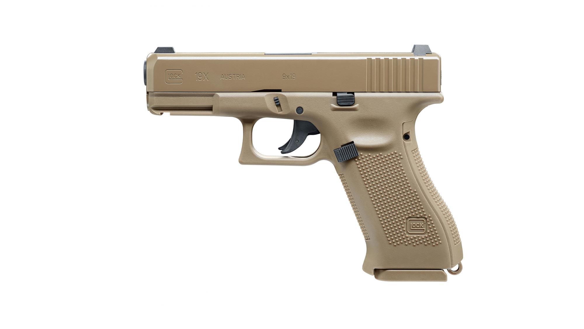 Glock 19X CO2-Pistole NBB 4,5mm BB