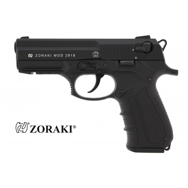Zoraki 2918 Schreckschusspistole schwarz, Kaliber 9mm P.A.K