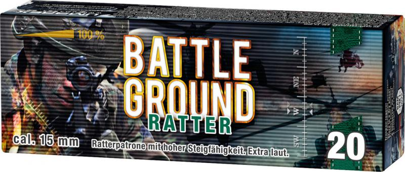 Feuerwerk Umarex Battleground Ratterpatrone sehr laut, 20teilig cal. 15mm Pyrotechnik