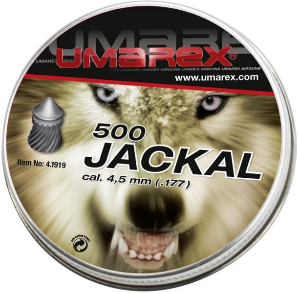 Umarex Jackal Spitzkopfdiabolos 4,5mm