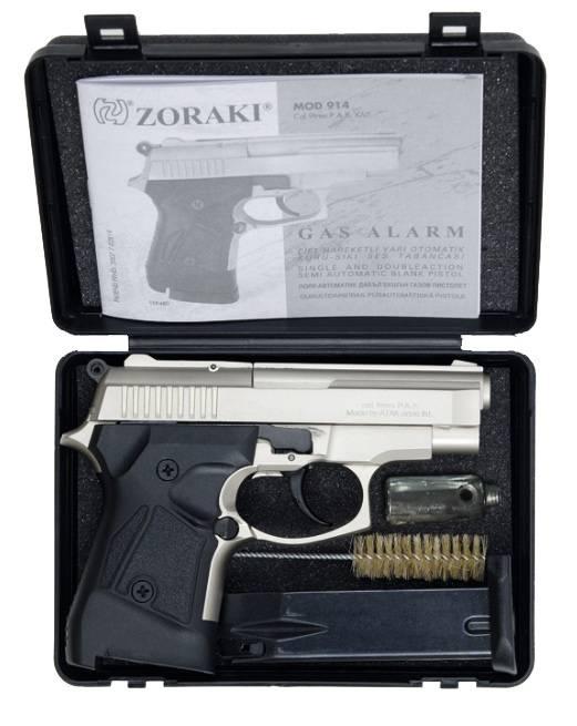 Zoraki 914 Schreckschusspistole, 9mm P.A.K verchromt