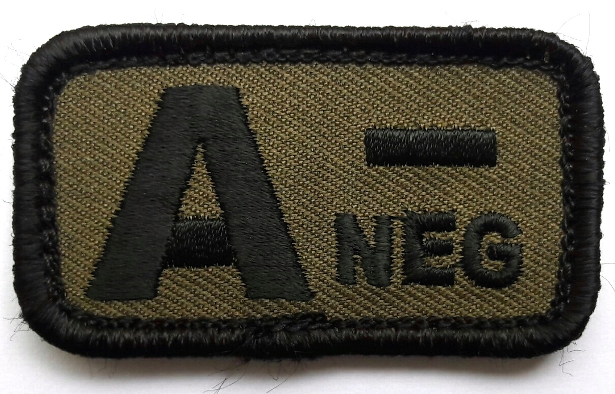 Moral Patch Blutgruppe A-