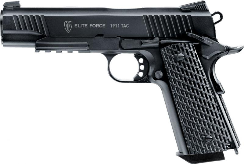 Elite Force 1911 Tac Airsoftpistole, 6mm BB