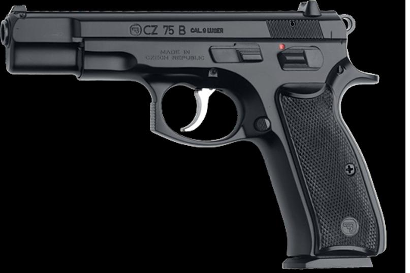 Selbstladepistole CZ 75B, cal. 9mm Luger (9x19)