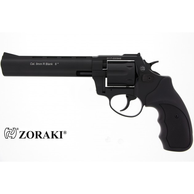 """Zoraki R1 Schreckschussrevolver 6"""" schwarz, cal. 9mm R.K"""