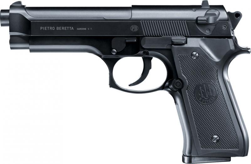 Beretta 92FS Airsoftpistole , 6mm BB Metallschlitten Heavy