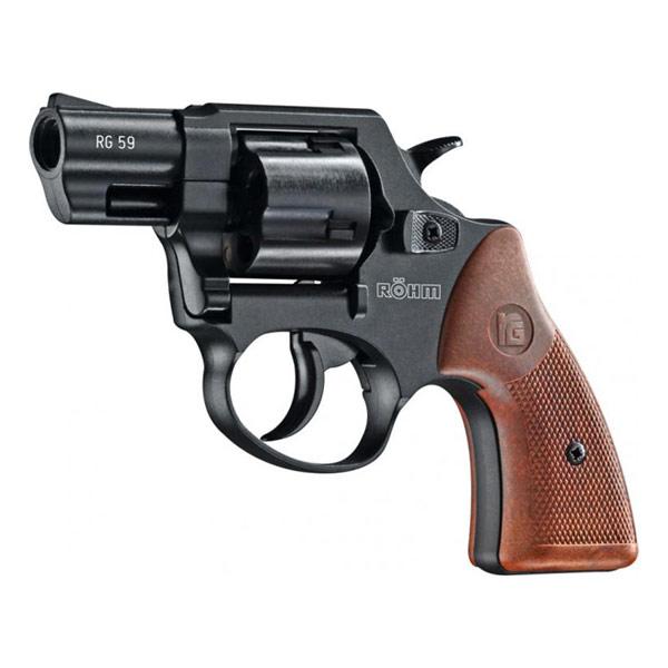 Röhm Mod. 59, Schreckschussrevolver cal. 9mm R.K. brüniert