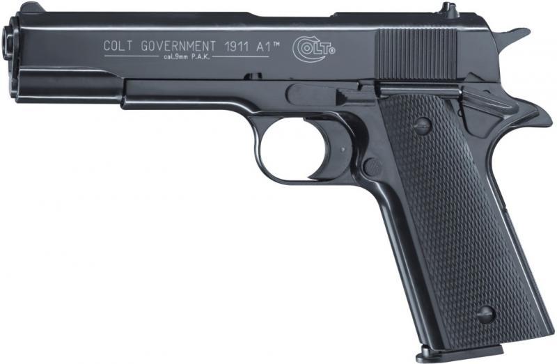 Colt Government 1911 A1 Schreckschuss Pistole 9mm P.A.K.