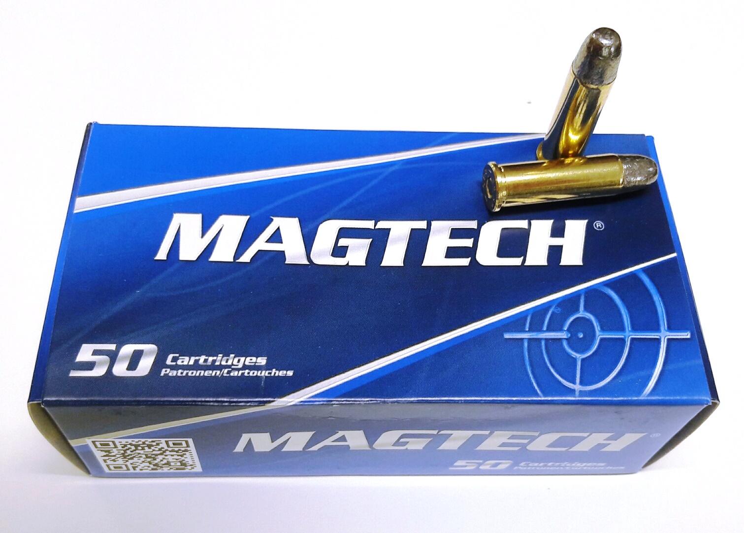 Magtech Revolverpatrone .38Spec, LRN, 158grs