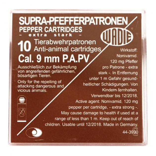 Wadie Pfefferpatrone 9mm P.A.K