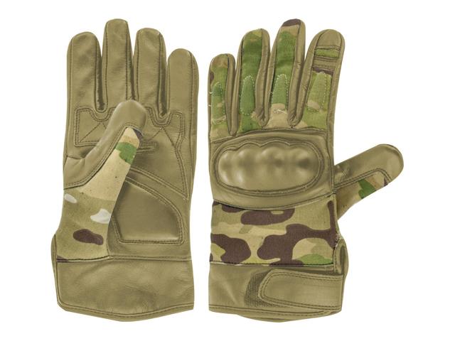 Handschuhe Duty Leder HMTC oliv