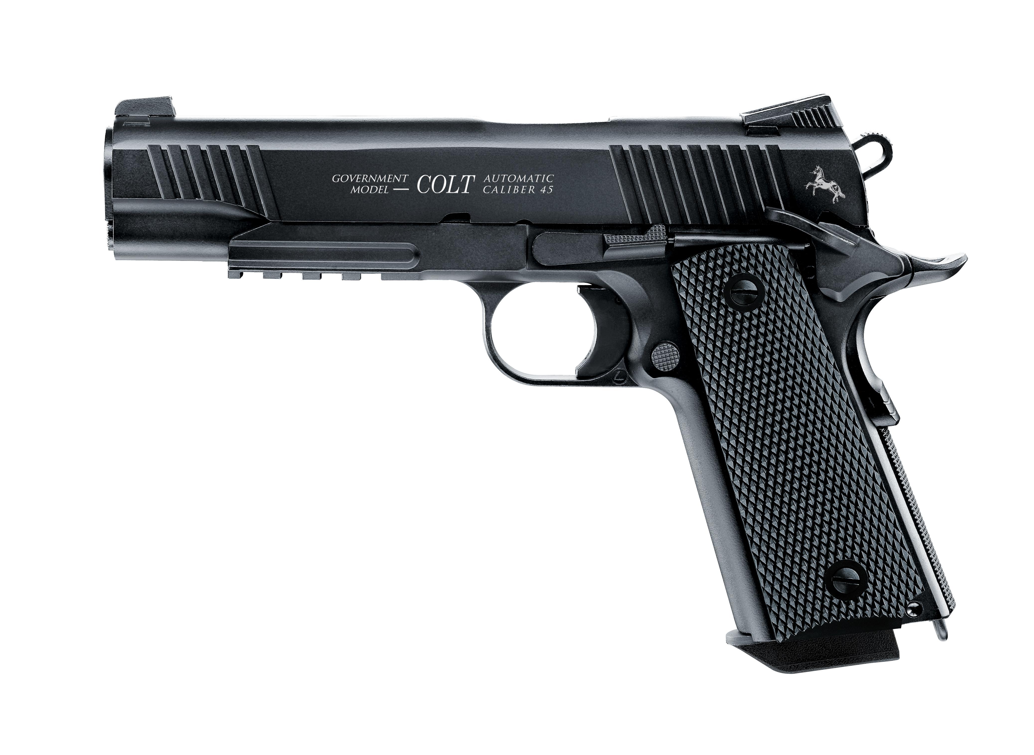 Colt Government M45 CQB schwarz CO2 Pistole